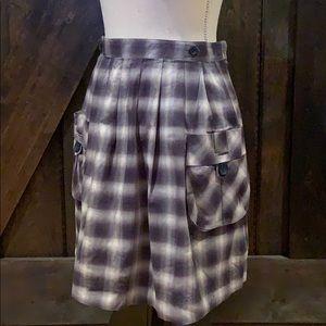 Twenty One Plaid skirt